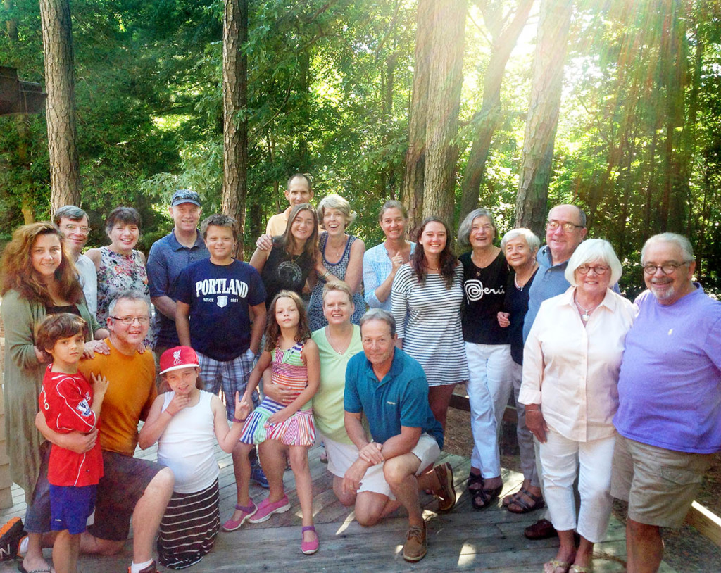 SsAM members joined folks from Christ Church Christiana Hundred for a summer retreat at Memorial House in Rehoboth Beach in August, 2015.