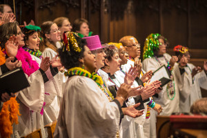 Episcopal Church of Saints Andrew and Matthew, SsAM, Carnival Sunday, Adult Choir