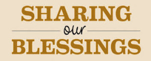 sharing our blessings