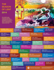 Season of Lent Calendar 2014