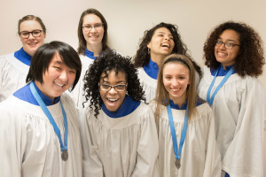 St. Cecilia Girls Choir, RSCM, David Christopher, Conductor and Organist, SsAM Summer Camp
