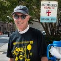 Fr. David Andrews at the Soul of the City Community Fun Fest, 28 September, 2019