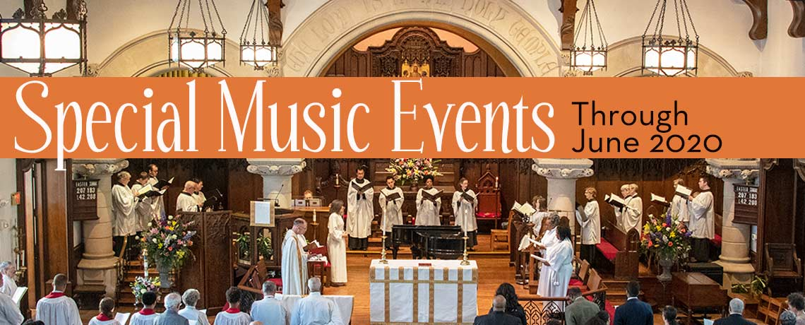 Special Music Events at the Episcopal Church of Saints Andrew and Matthew (SsAM), downtown Wilmington, Delaware