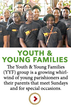 Youth and Young Families in downtown Wilmington, Delaware at the Episcopal Church of Saints Andrew and Matthew