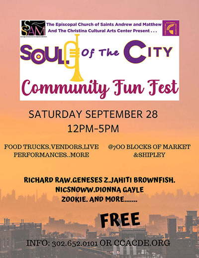 Soul of the City Community Fun Fest 2019, Wilmington, Delaware