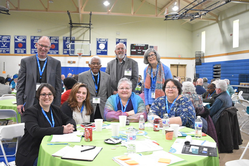 SsAM members at Invite Welcome Connect Evangelism Conference on November 23, 2019.