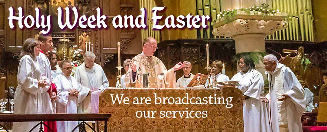 Holy Week and Easter Celebrated by Video in Wilmington, Delaware