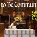 Link to Fr. David's Blog