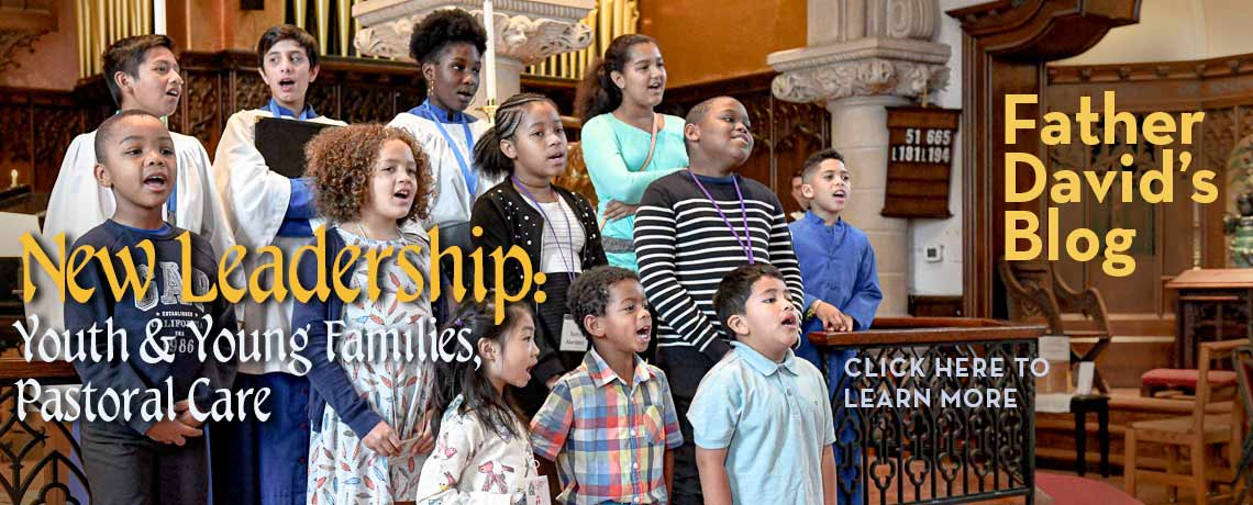 New Leadership for Youth & Young Families and for Pastoral Care Ministries