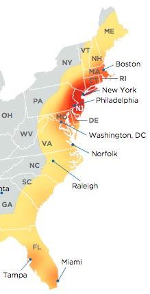 East Coast Superfund Sites