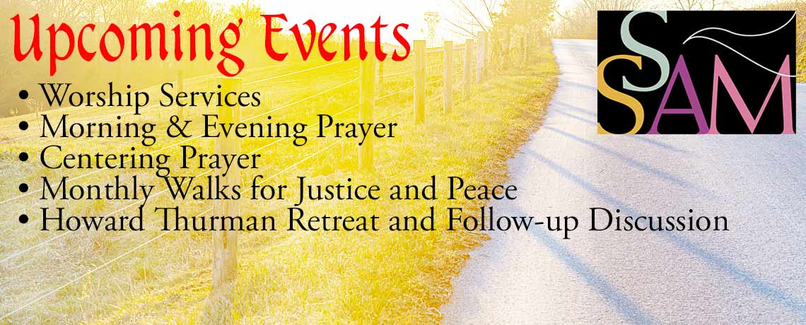 Upcoming Events at the Episcopal Church of Saints Andrew and Matthew, Wilmington, Delaware