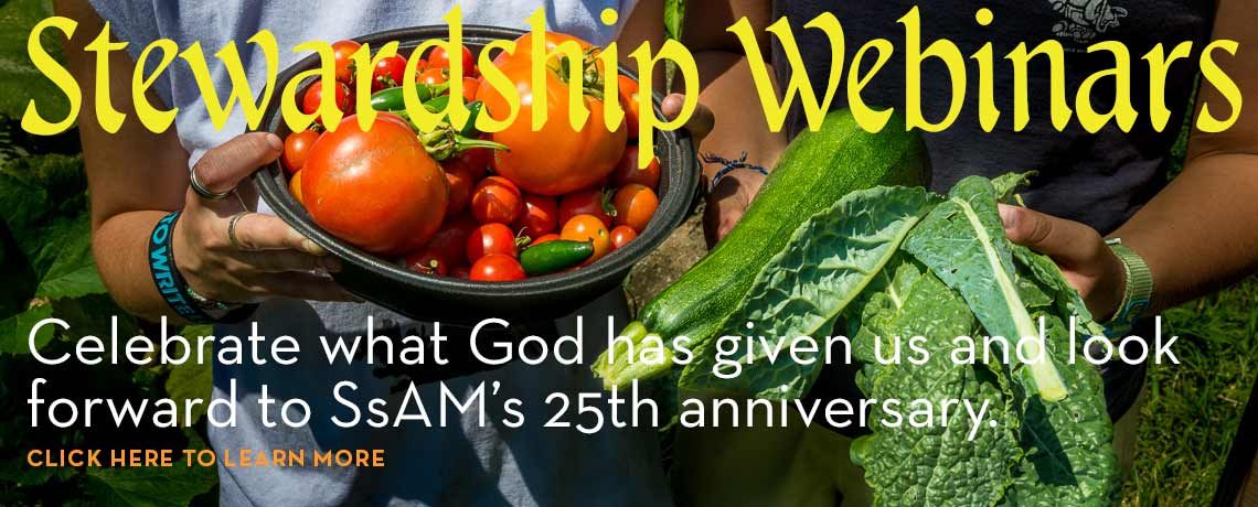 Stewardship Webinar Video Recording: Celebrating SsAM and Our Future