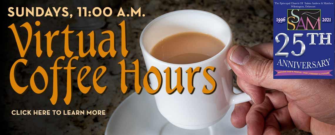 Virtual Coffee Hour This Sunday