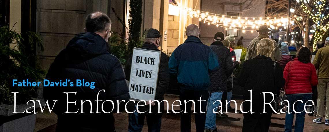 Law Enforcement and Race, a discussion on April 21, 2021