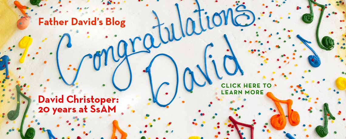 David Christopher, 20 Years At SsAM