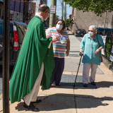 In-person worship at SsAM after 15 months of gatherning by video - June 6, 2021 at the Episcopal Church of Saints Andrew and Matthew, Wilmington, Del;awae