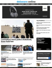 Delaware Online Cover Page on June 23, 2020