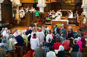 The Episcopal Church of Saints Andrew and Matthew, SsAM, Gospel Procession, Wilmington, Delaware