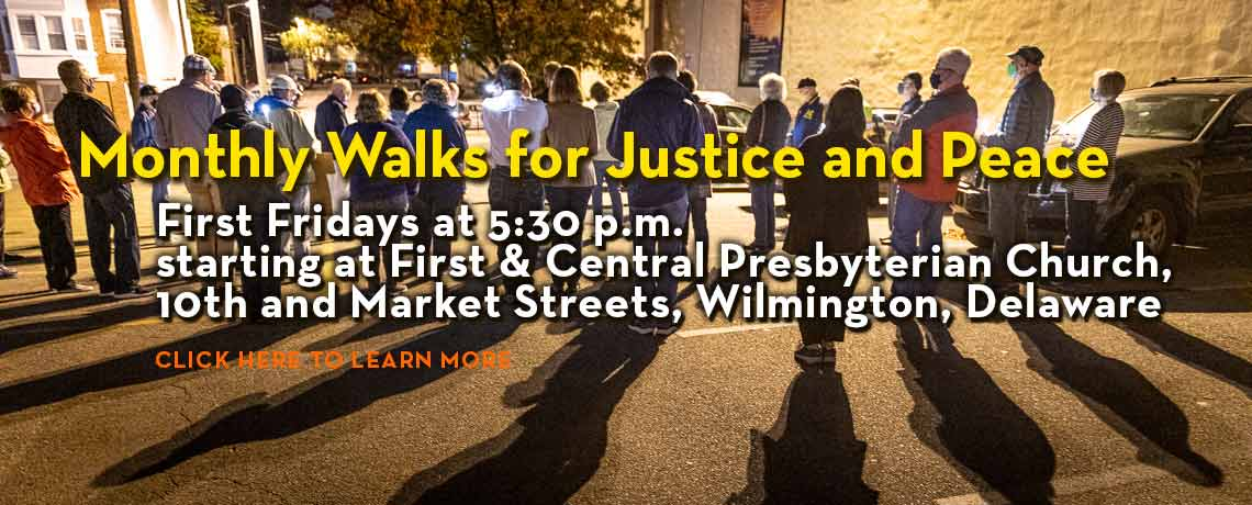 Monthly Walks for Justice and Peace
