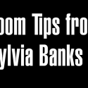 Zoom Tips from Sylvia Banks