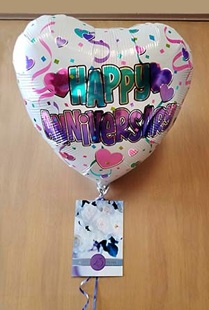 Happy Anniversary balloon photo