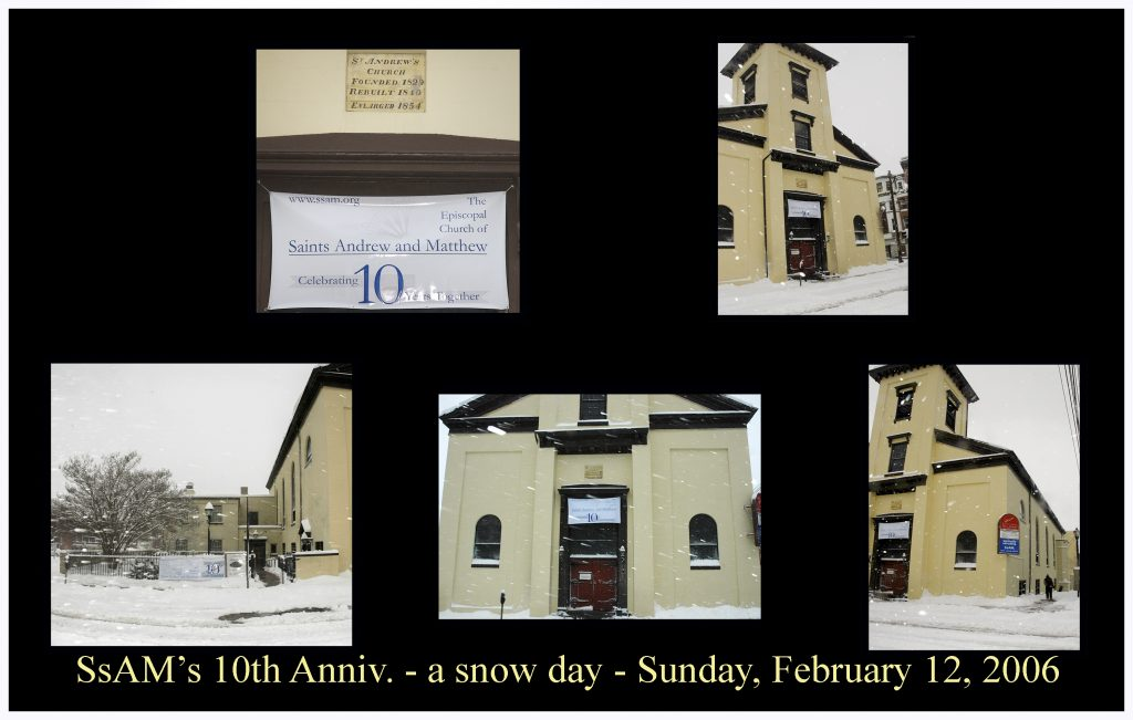 10th Anniversary was a snow day by Ken Francis - photo one
