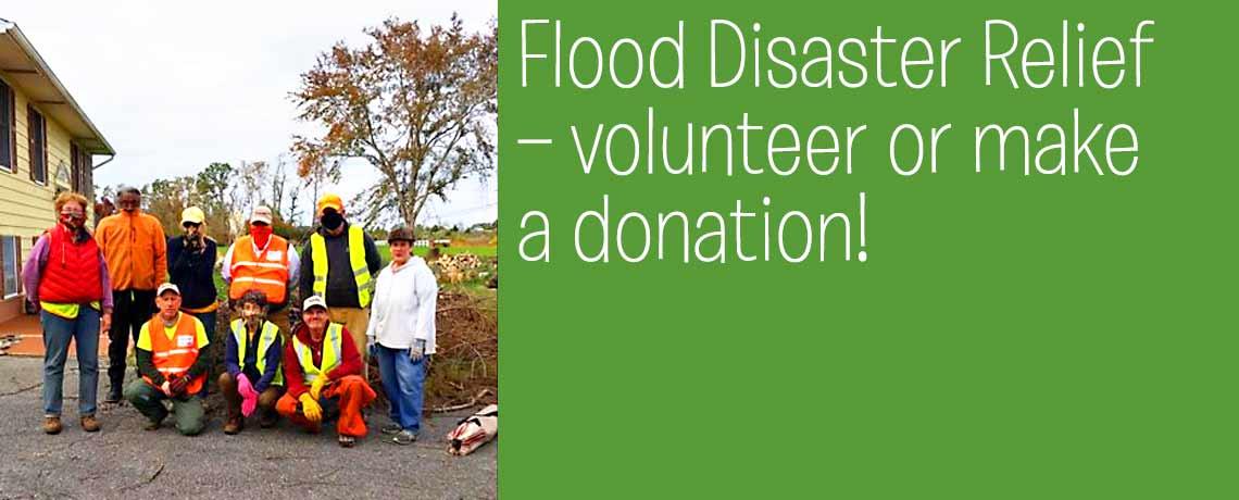 Disaster Flood Relief in Wilmington, Delaware